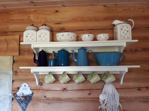 Koffie- en theefaciliteiten bij Toominga Seaside Cottage
