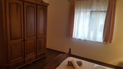 Cama o camas de una habitación en Apartmani Lavanda