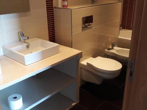 A bathroom at Portela Susa
