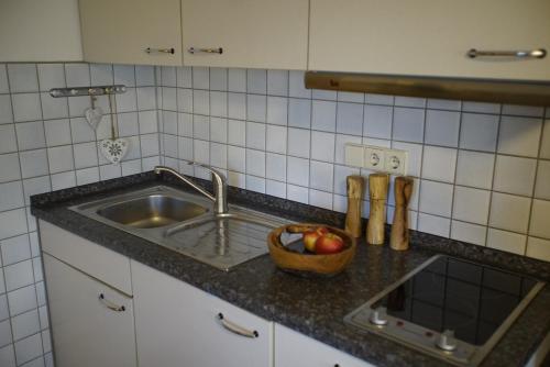 Küche/Küchenzeile in der Unterkunft Haus Barbara