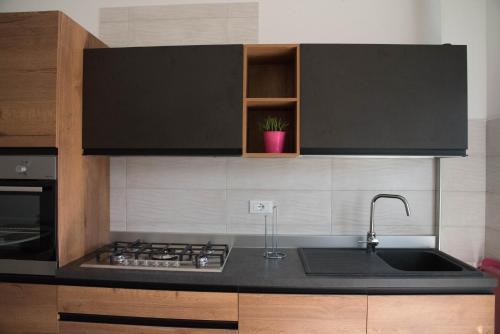 A kitchen or kitchenette at Casa sprint
