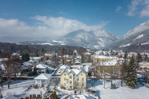 Landhaus Blauer Spatz Reichenau an der Rax during the winter
