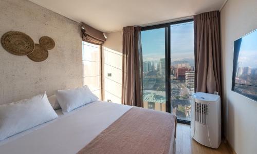 Cama o camas de una habitación en Zip Apartments