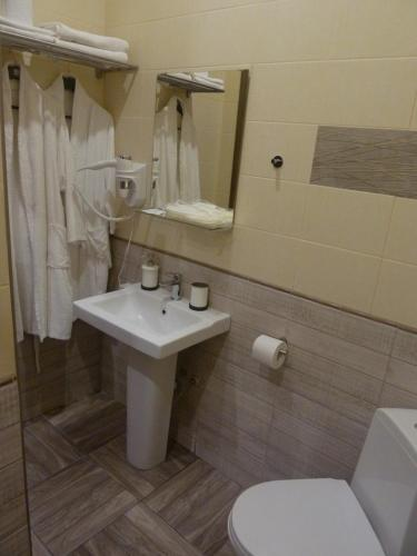 Ванная комната в Разлив - Залив Хостел & Отель