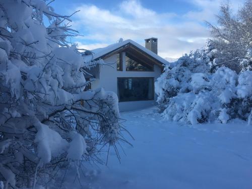 Catedral Winter House durante el invierno