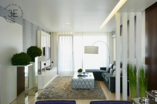 A seating area at Olaria Luxury Penthouse