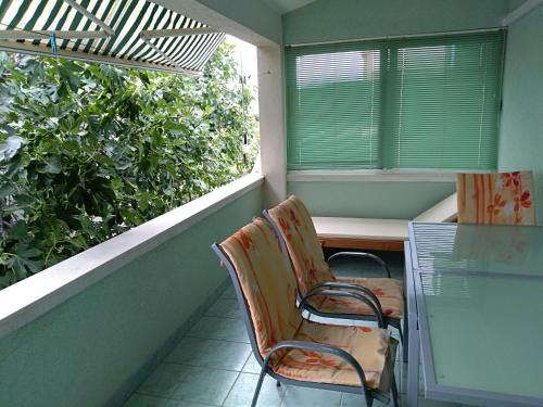 Balkon ili terasa u objektu Apartments Otok