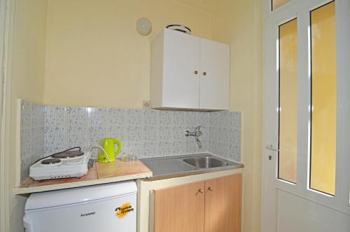 Küche/Küchenzeile in der Unterkunft LEVANTE Studios