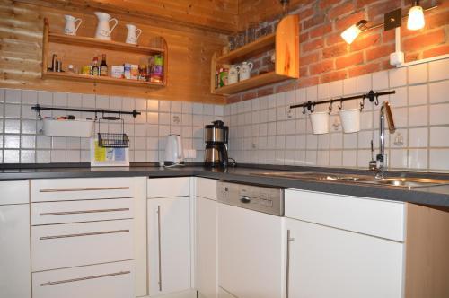 Küche/Küchenzeile in der Unterkunft Eifelcottage
