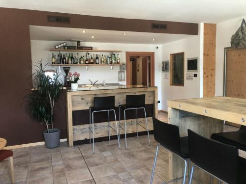The lounge or bar area at RTA Torre Del Brenta