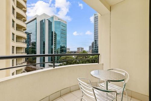 A balcony or terrace at Mantra Parramatta