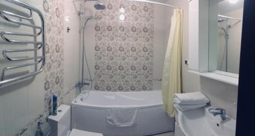 Ванная комната в Apartment Plus