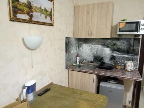 Кухня или мини-кухня в KakDoma-SVO Studios