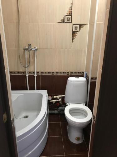 Ванная комната в Popova 74b apart.