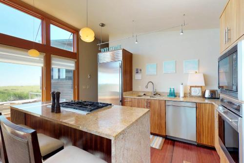 A kitchen or kitchenette at Jaeger