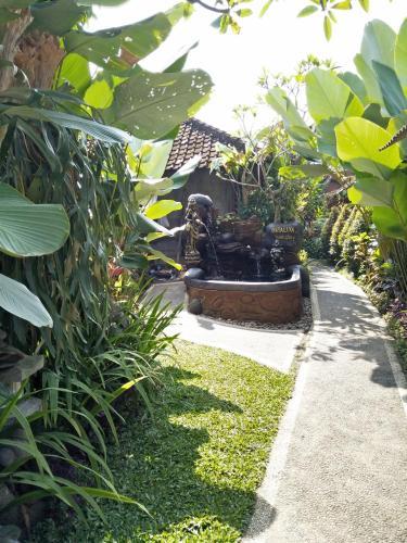 A garden outside Nataliya Homestay