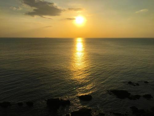 The sunrise or sunset as seen from the villa or nearby