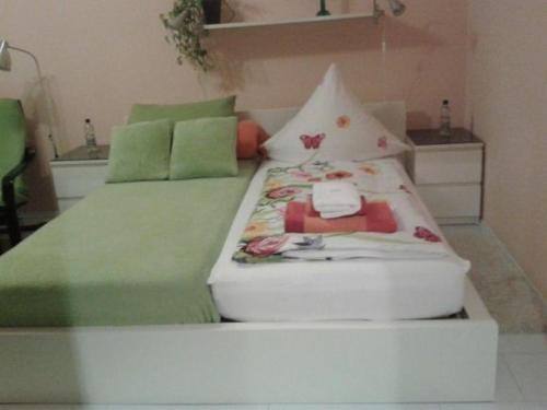 Ein Bett oder Betten in einem Zimmer der Unterkunft Apartment Hagen Nähe TU Altstadt
