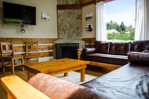 Un lugar para sentarse en Mountain apartment
