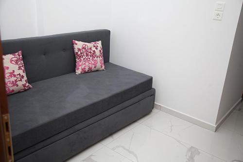 Letto o letti in una camera di Floral Studios
