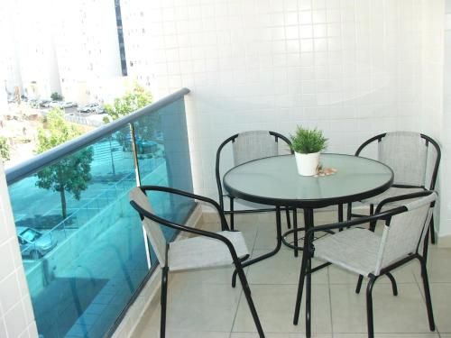 A balcony or terrace at Ashdod City