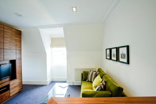 A seating area at The Merchiston Residence