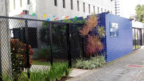 The facade or entrance of Flat Recife