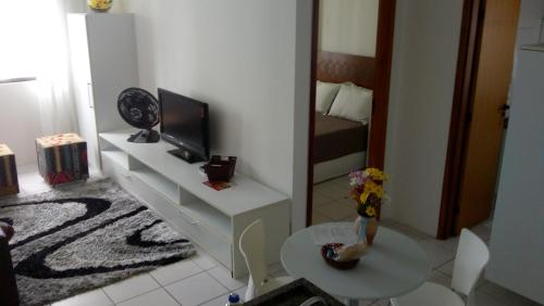 A television and/or entertainment center at Flat Recife