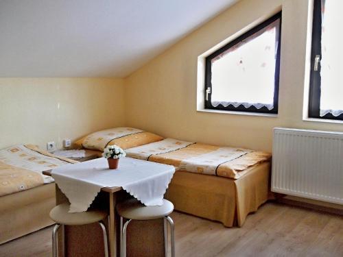 A bed or beds in a room at Windstille