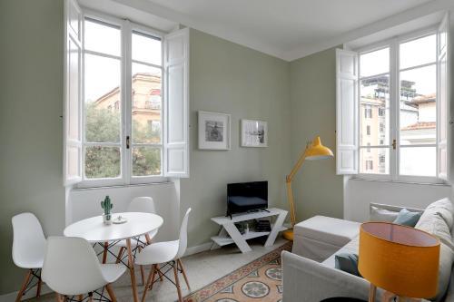 Area soggiorno di Vatican Sweet Suite