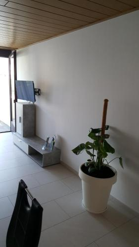 A television and/or entertainment center at Top Apartment nähe Dom