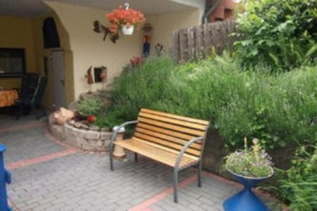 A porch or other outdoor area at Apartment Hartwich