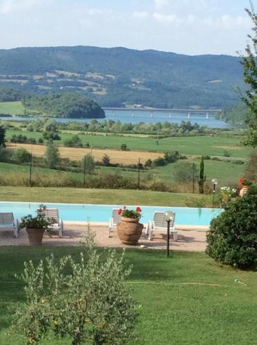 The swimming pool at or close to Mercatale