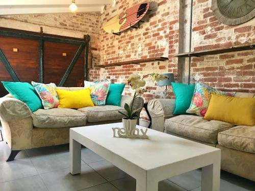 A seating area at Studio 13 Durban North