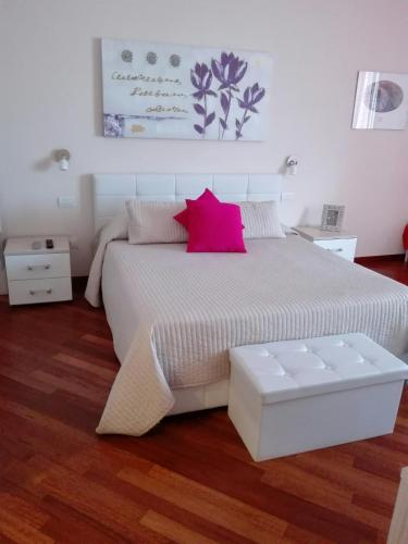 A bed or beds in a room at Residenza Piazza Moro