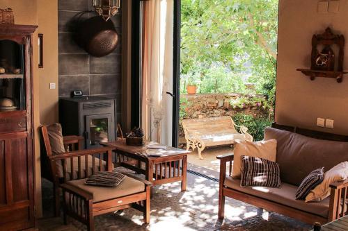 Zona de estar de Casa rural Llana 12