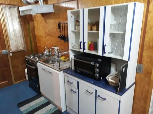 Una cocina o zona de cocina en Depto. Altos de Tenglo