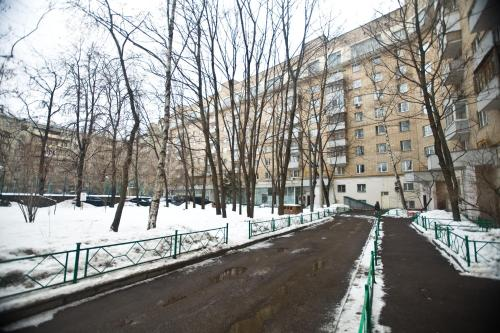 Nice Flats Smolenskaya зимой
