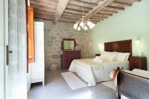 Deluxe Romantic Apartment休息區