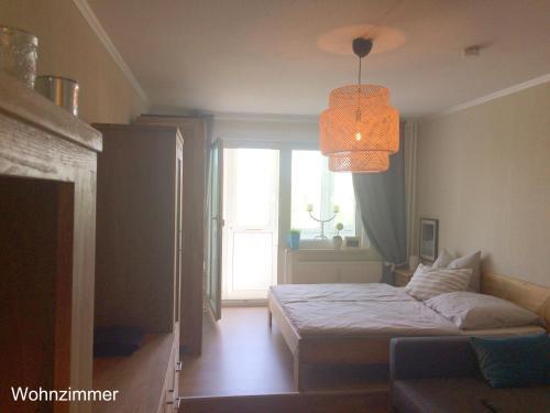 Ein Bett oder Betten in einem Zimmer der Unterkunft Apartment Anna