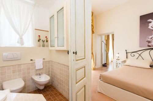 Ein Badezimmer in der Unterkunft Palazzo Gentili