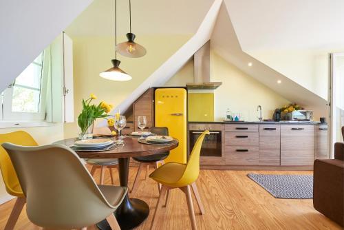 Kuchnia lub aneks kuchenny w obiekcie Lisbon Best Choice Apartments Alfama