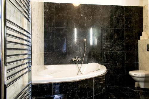 Ένα μπάνιο στο Janalex Wenceslas Square Apartments II