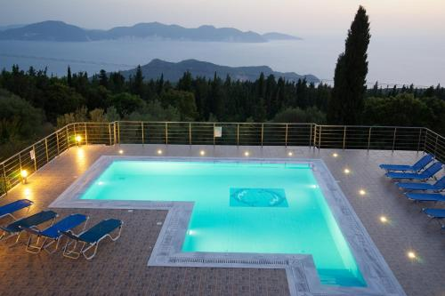 A view of the pool at Studios Vrionis Panoramic Sunset or nearby