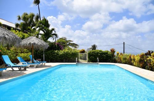 Der Swimmingpool an oder in der Nähe von Le Panoramic