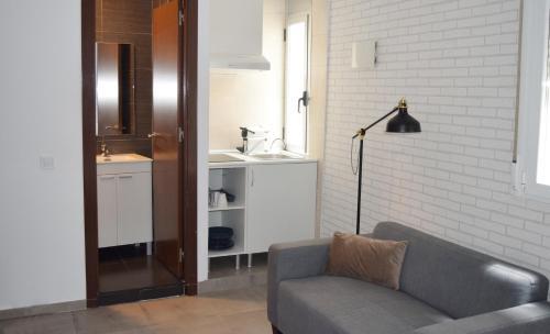 Setusvæði á Madrid Suites SOL