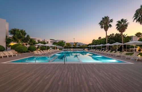 Het zwembad bij of vlak bij Alexandra Beach