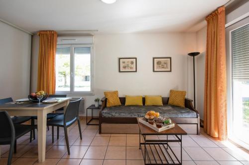 Posezení v ubytování Appart'City Dijon – Toison D'or