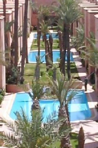 The swimming pool at or near Riad Yasmine marrakech