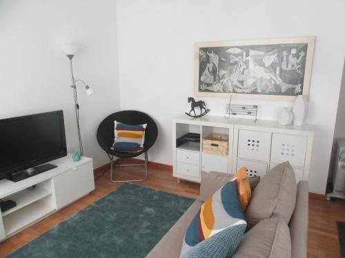 A television and/or entertainment center at aoConvento